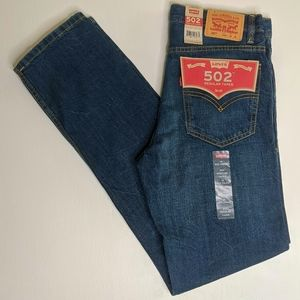 Levi's 502 Regular Taper Distressed Jeans NWT